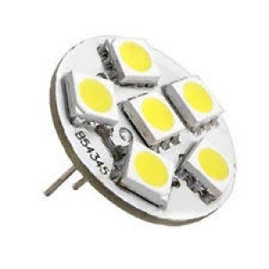G4 10-30V 6 SMD LED Globe (1PC)