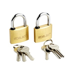 40mm Brass Lock Duopack