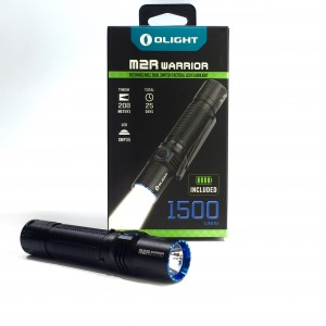 Olight M2R Warrior 1500Lumen LED Rechargeable Tactical Torch