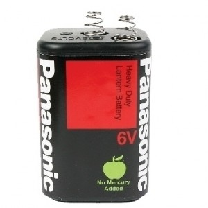 Panasonic 6V lantern battery