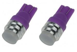 T10 12V RGB COB Self Colour Changing LED (2PC)
