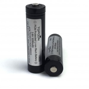Top Gun 3.6V Li-ion 18650 Battery [3200mAh]
