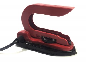 Teflon coated Non-Stick 12V Travel Iron