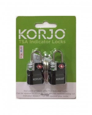 TSA Keyed indicator locks (x2)