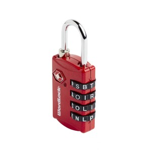 Word Lock Luggage Lock