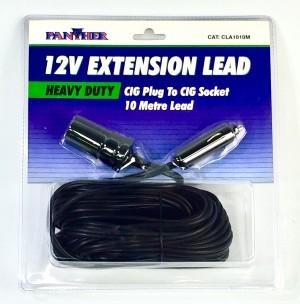 Extension Cable 10M 12V Cigarette Lighter Adaptor