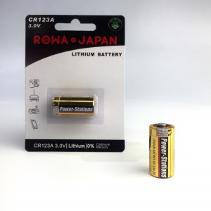 CR123A Li-ion Battery 3V 1.4Ah