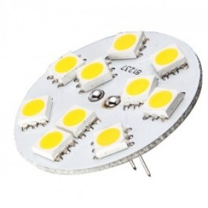 G4 10-30V 10 SMD LED Globe (1PC)