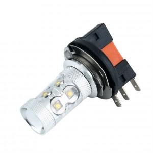 H15 12V/24V 10x5W Cree LED Dual Brightness (1PC)