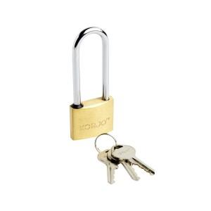 40mm Long Shackle Brass Lock