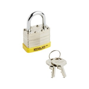 Lock 40mm Steel
