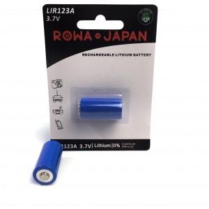 Rechargeable 3V CR123A Li-ion Battery 700mAh