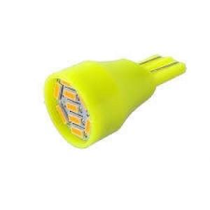 T15 12V 9SMD Amber LED (1PC)