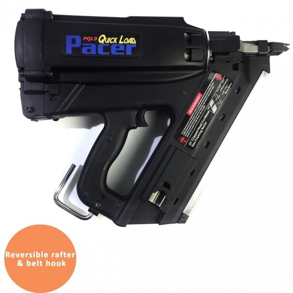 Pacer Cordless Gas Framing Nailer