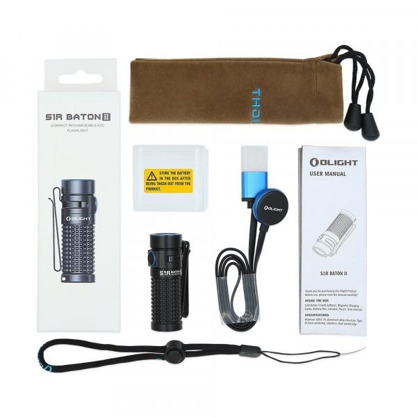 Olight S1R Baton II | 1000 Lumens | Pocket Torch
