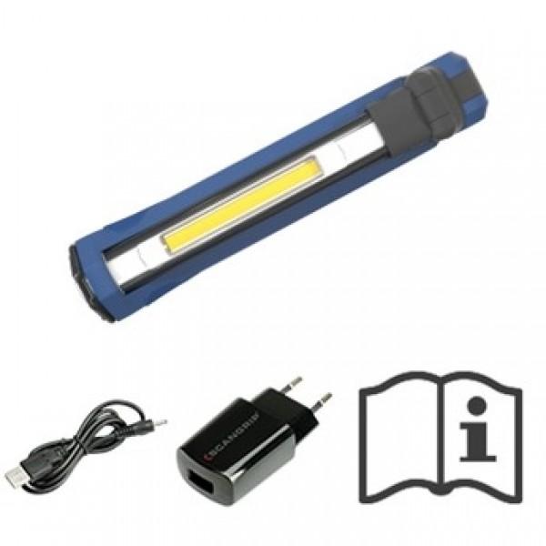 Scangrip SLIM Rechargeable Folding Pocket Light